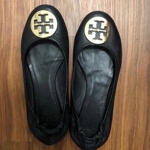 Tory Burch Revel Leather Flats 8